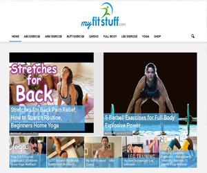 Normal Package of Web Design, Web Development Services for myfitstuff